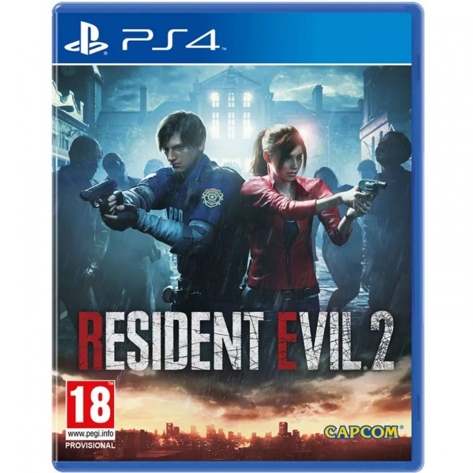 PS 4 Resident Evil 2: Remake PS 4