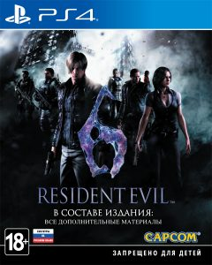 PS 4 Resident Evil 6