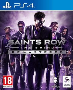 PS 4 Saints Row: The Third. Remastered