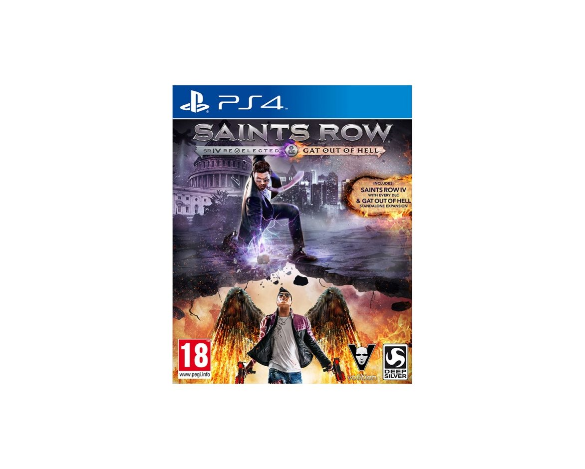 PS 4 Saints Row IV: Re-Elected PS 4