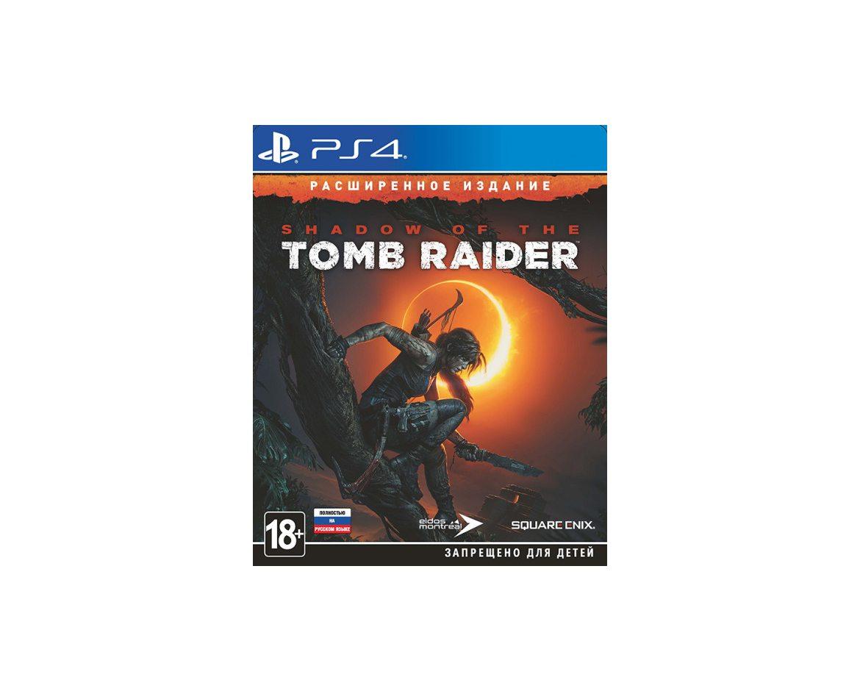 PS 4 Shadow of the Tomb Raider Расширенное Издание PS 4