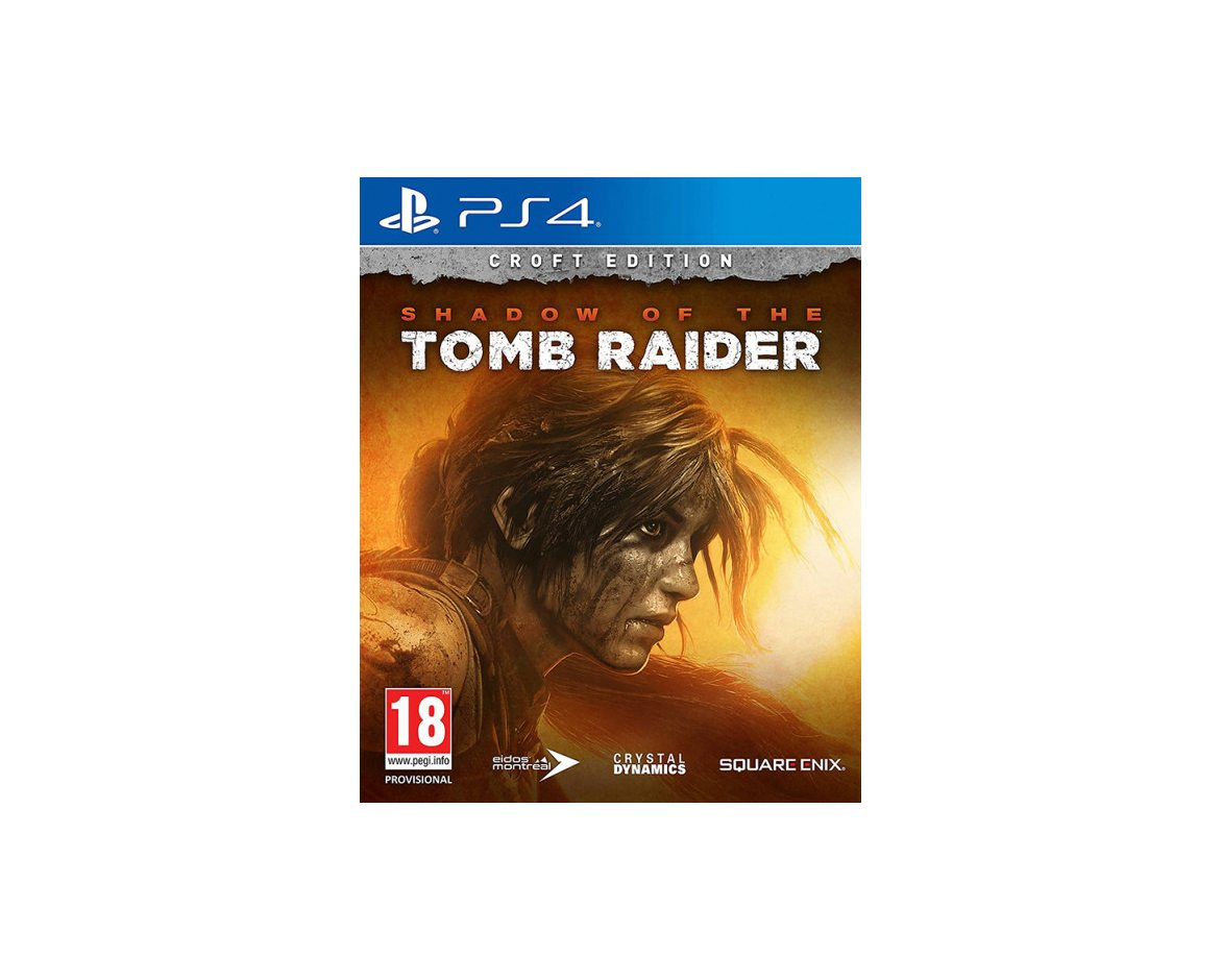 PS 4 Shadow of the Tomb Raider Croft Edition PS 4