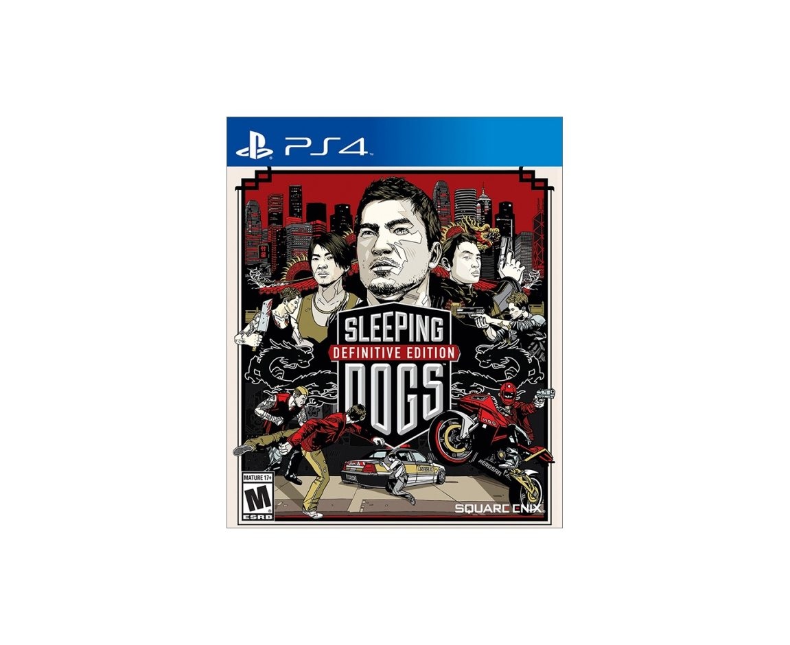PS 4 Sleeping Dogs. Definitive Edition PS 4