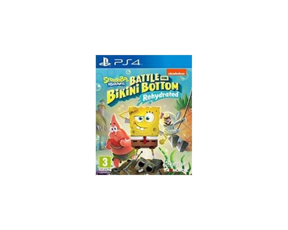 PS 4 SpongeBob SquarePants: Battle For Bikini Bottom -Rehydrated PS 4