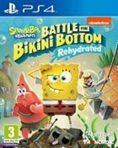 PS 4 SpongeBob SquarePants: Battle For Bikini Bottom -Rehydrated