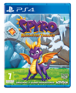 PS 4 Spyro Reignited Trilogy
