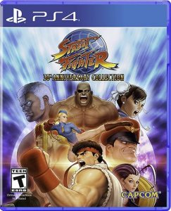 PS 4 Street Fighter 30th Anniversary Collection