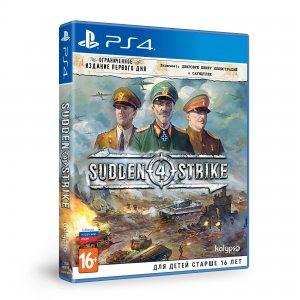 PS 4 Sudden Strike 4. Ограниченное издание первого дня