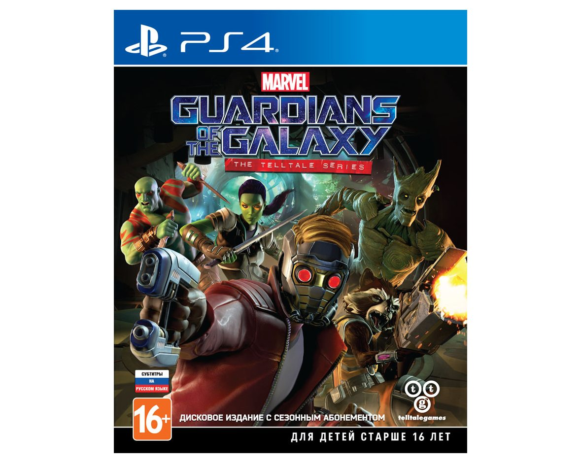PS 4 Telltale's Guardians of the Galaxy PS 4