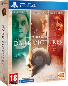 PS 4 The Dark Pictures. Triple Pack