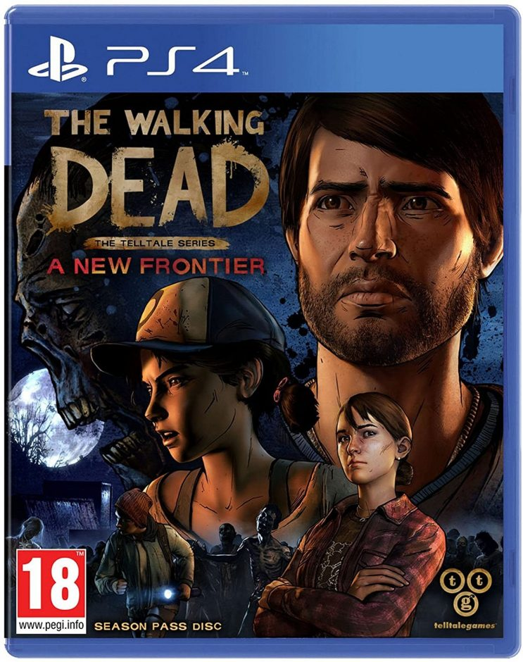 PS 4 The Walking Dead: A New Frontier PS 4