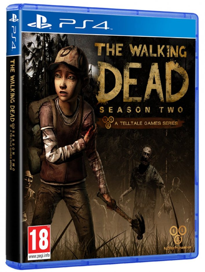 PS 4 The Walking Dead: The Complete Second Season PS 4