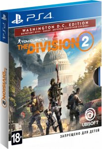 PS 4 Tom Clancy's The Division 2. Washington, D.C. Edition