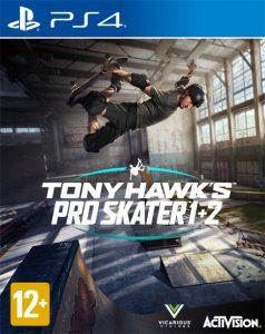 PS 4 Tony Hawk's Pro Skater 1 and 2