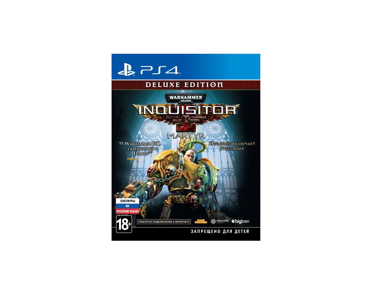 PS 4 Warhammer 40,000 Inquisitor - Martyr (Deluxe Edition) PS 4