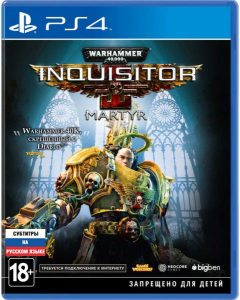 PS 4 Warhammer 40,000 Inquisitor - Martyr