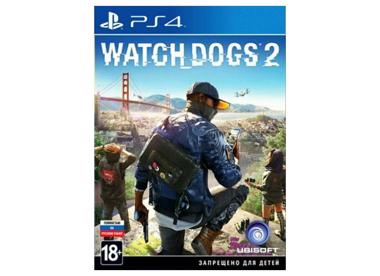 PS 4 Watch Dogs 2 PS 4
