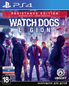 PS 4 Watch Dogs Legion  Resistance Edition