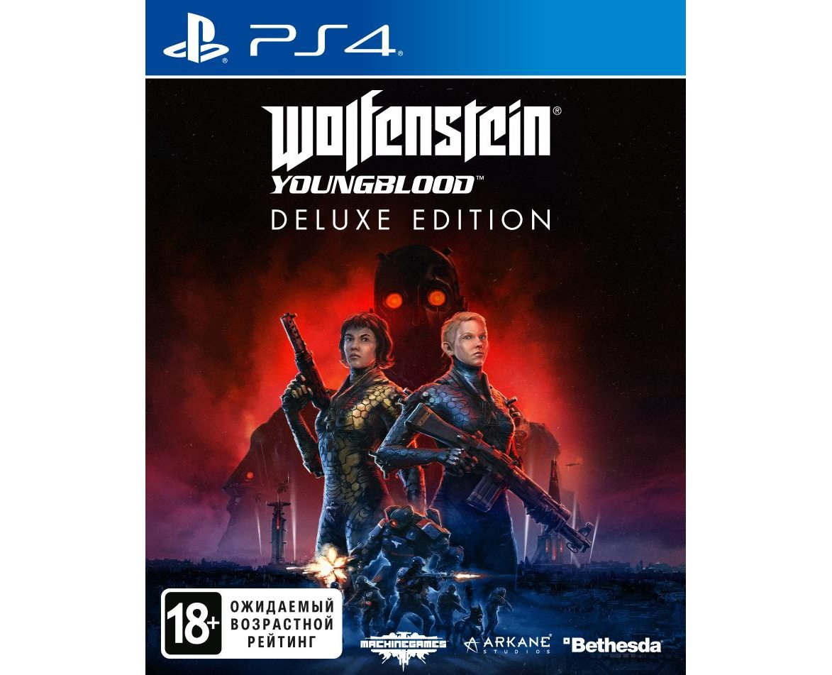 PS 4 Wolfenstein: Youngblood. Deluxe Edition PS 4