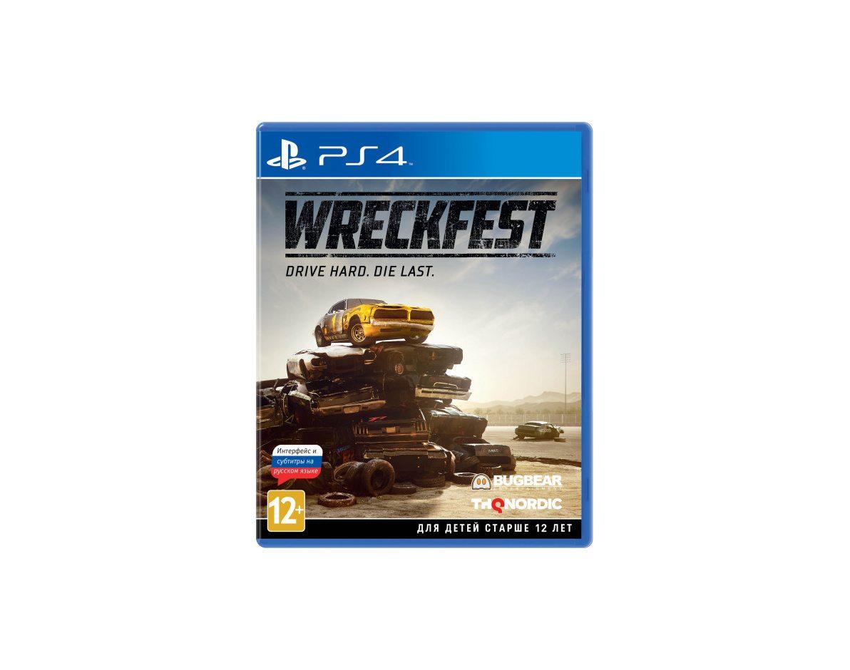 PS 4 Wreckfest PS 4