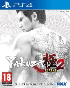 PS 4 Yakuza Kiwami 2 Steelbook