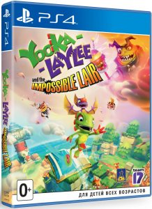 PS 4 Yooka-Laylee and the Impossible Lair