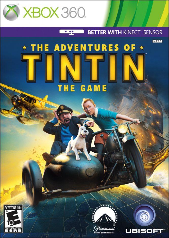 Xbox 360 Adventures of Tintin: The Game (Приключения Тинтина: Тайна единорога) Xbox 360