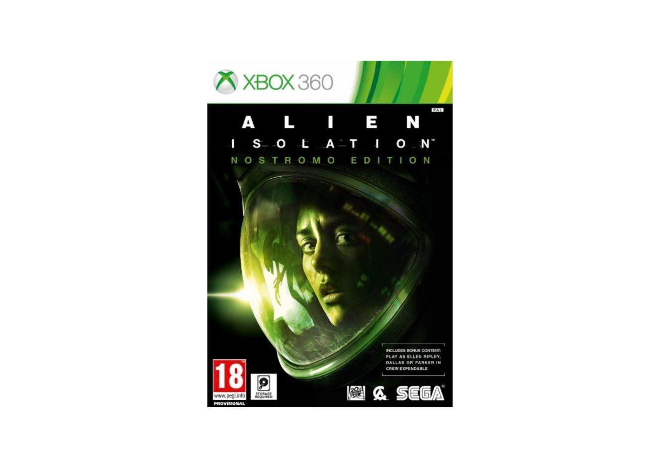 Xbox 360 Alien: Isolation. Nostromo Edition Xbox 360