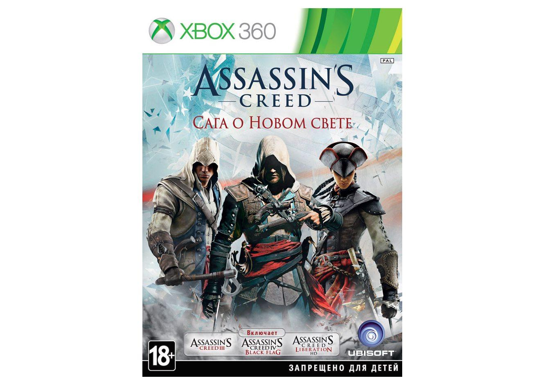 Xbox 360 Assassin's Creed. Сага о Новом Свете Xbox 360