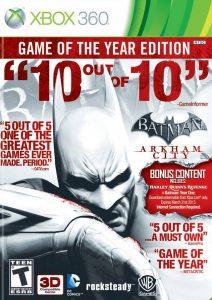 Xbox 360 Batman: Arkham City. Game of the Year Edition