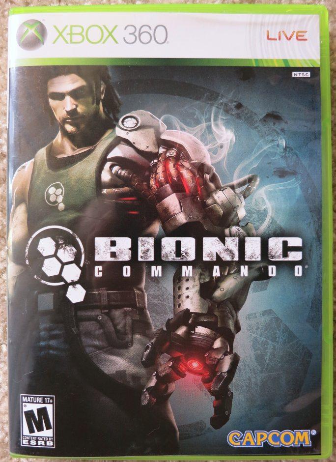 Xbox 360 Bionic Commando Xbox 360