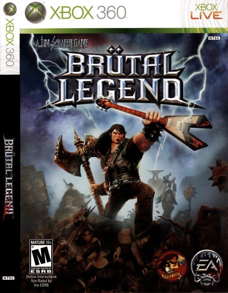 Xbox 360 Brutal Legend Xbox 360