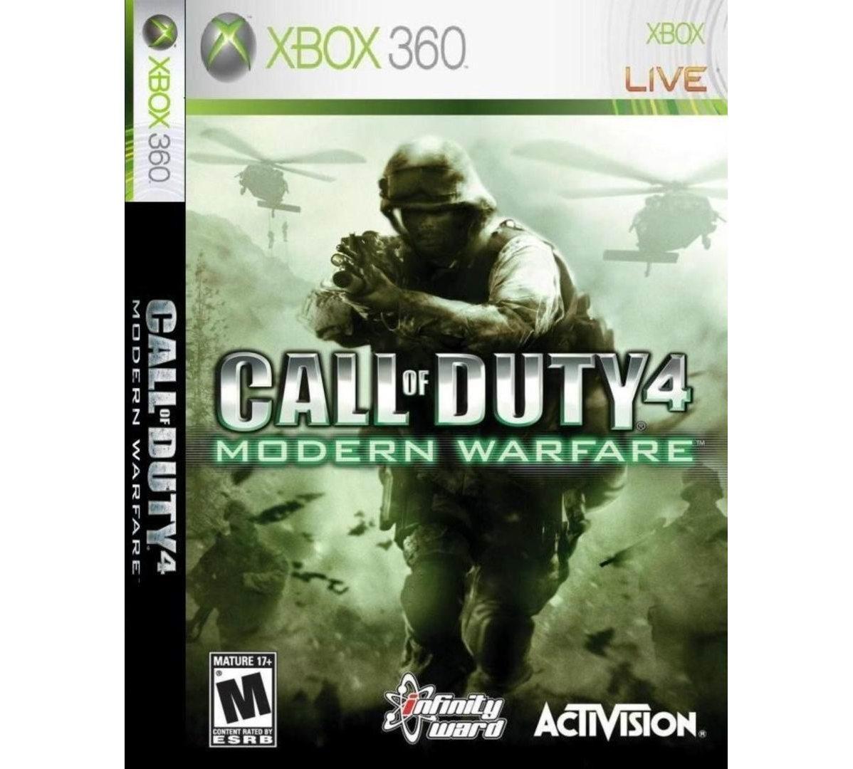 Xbox 360 Call of Duty 4: Modern Warfare Xbox 360
