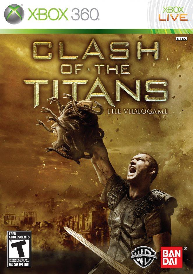 Xbox 360 Clash of the Titans Xbox 360