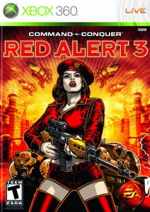 Xbox 360 Command and Conquer: Red Alert 3