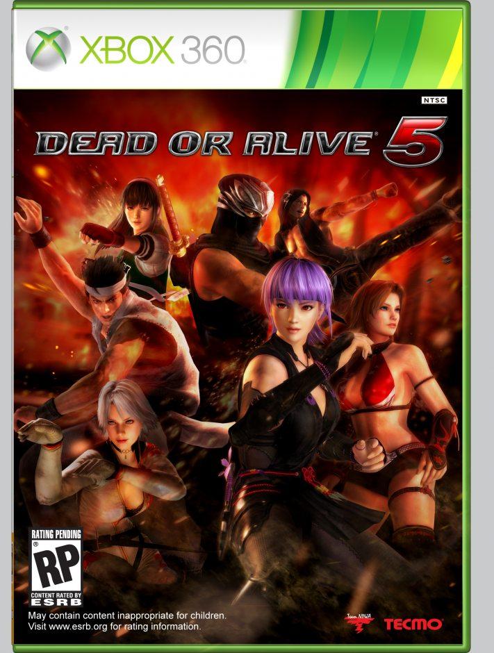 Xbox 360 Dead or Alive 5 Xbox 360