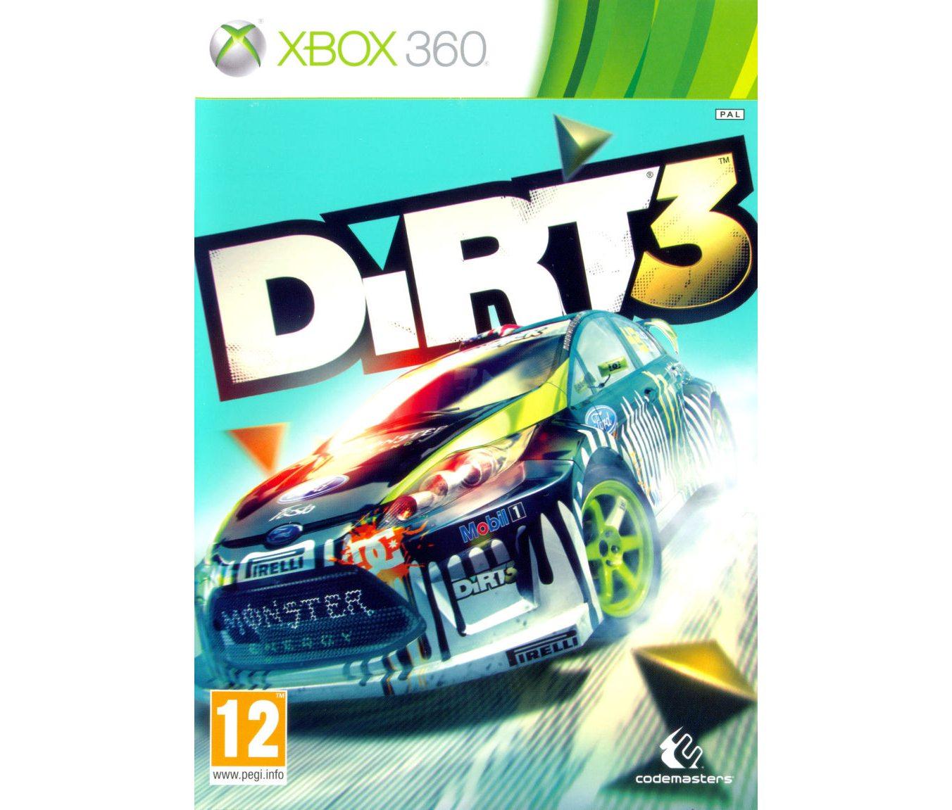 Xbox 360 Dirt 3 Xbox 360