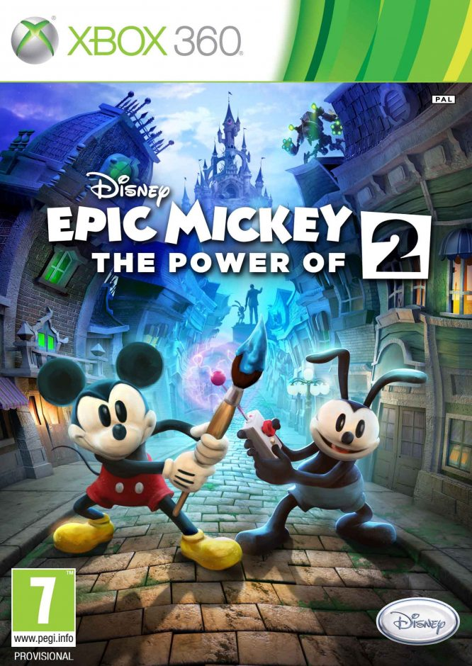 Xbox 360 Disney Epic Mickey 2: The Power of Two (Disney Epic Mickey: Две легенды) Xbox 360