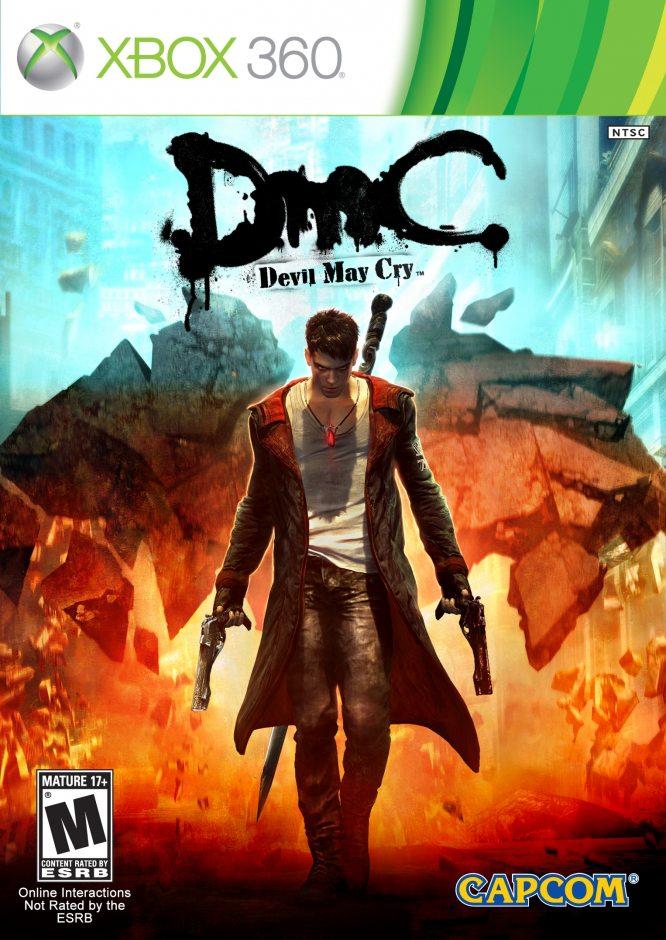 Xbox 360 DmC Devil May Cry Xbox 360