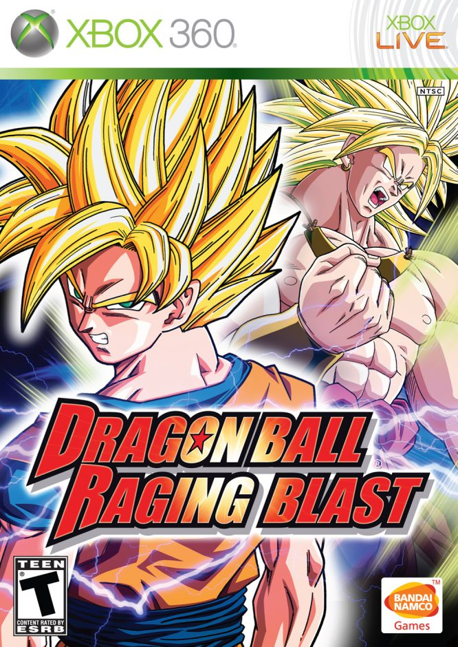 Xbox 360 Dragon Ball: Raging Blast Xbox 360