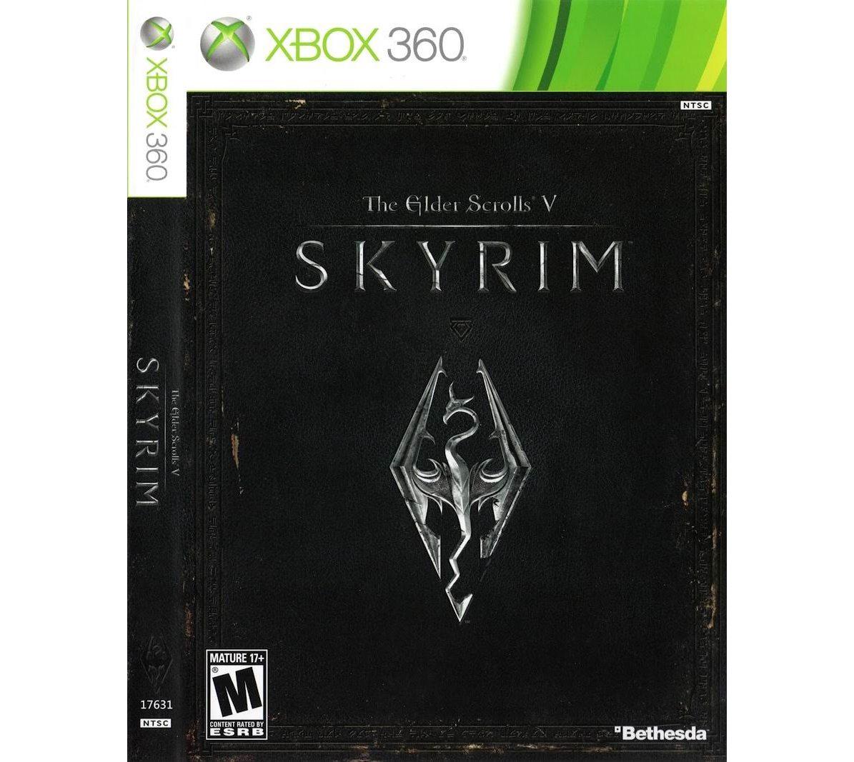Xbox 360 Elder Scrolls V: Skyrim Xbox 360