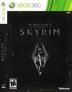 Xbox 360 Elder Scrolls V: Skyrim