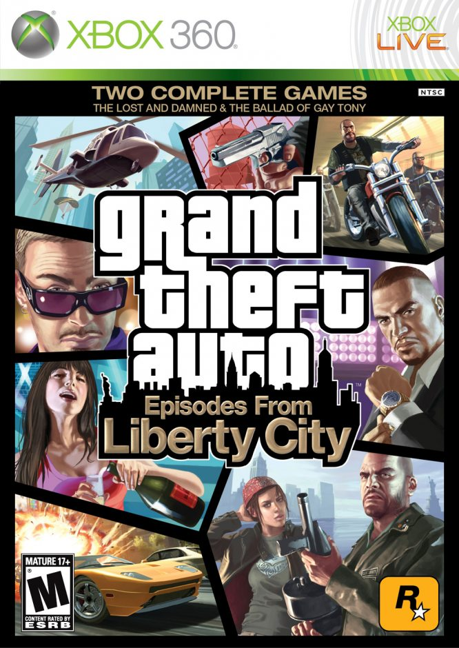 Xbox 360 Grand Theft Auto: Episodes From Liberty City Xbox 360