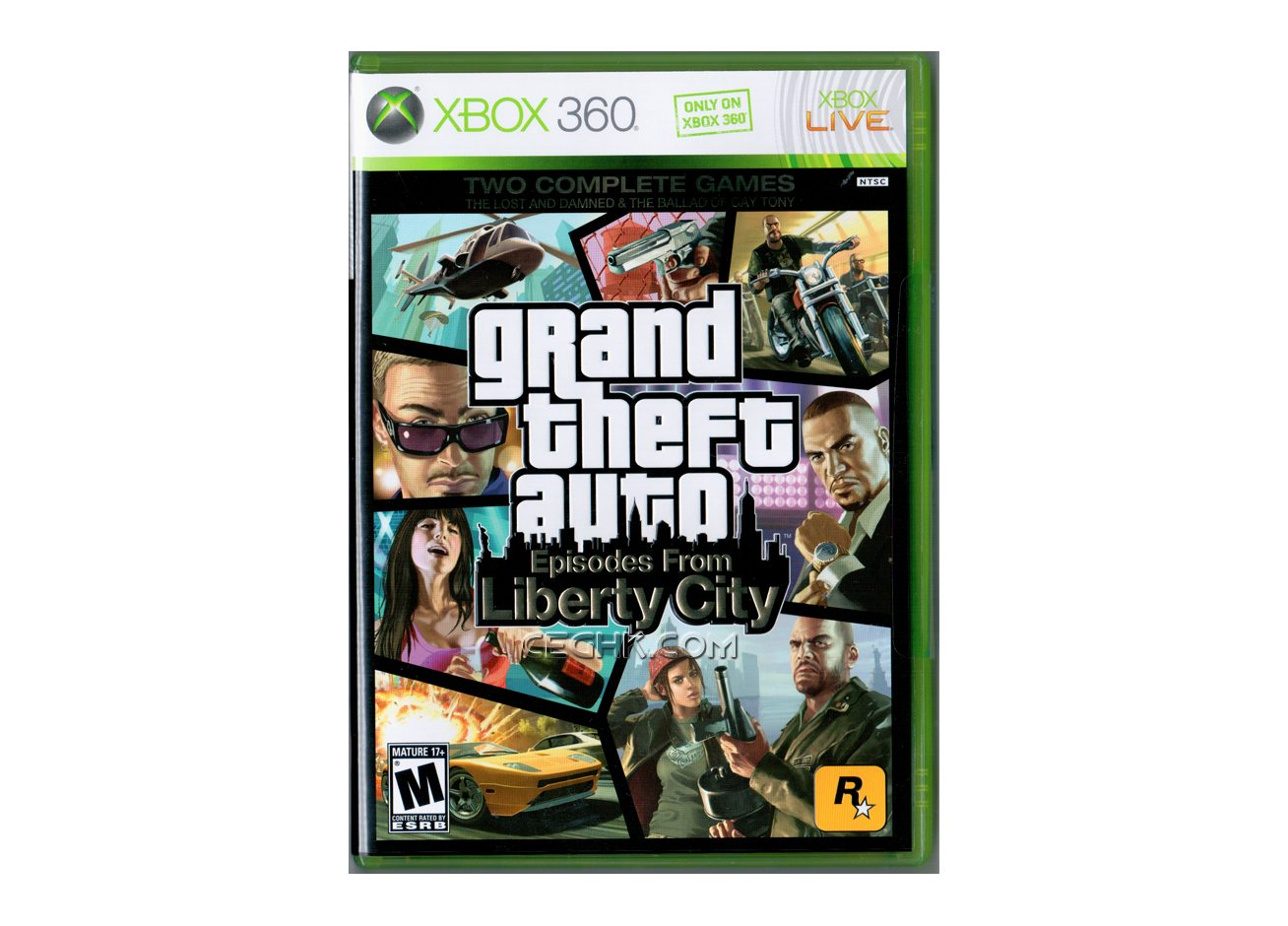 Xbox 360 Grand Theft Auto Episodes from Liberty City Xbox 360