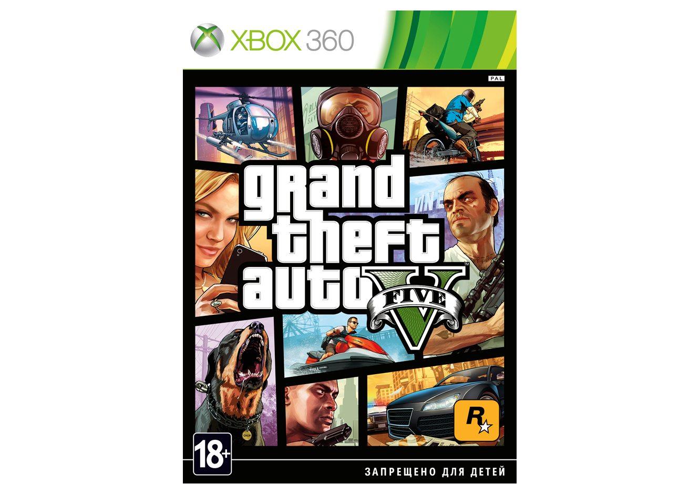 Xbox 360 Grand Theft Auto V Xbox 360