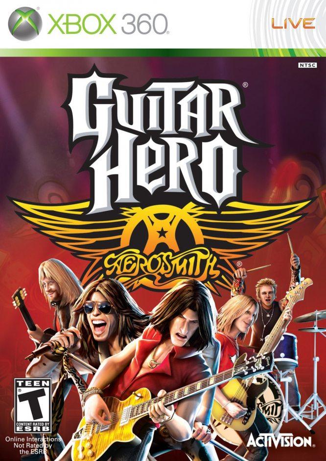 Xbox 360 Guitar Hero: Aerosmith Xbox 360