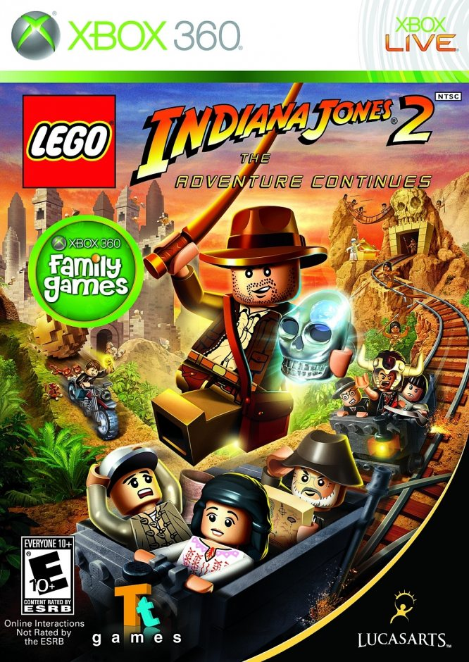 Xbox 360 LEGO Indiana Jones 2: The Adventure Continues Xbox 360