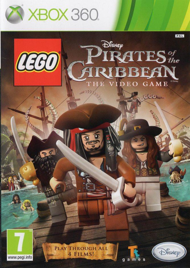 Xbox 360 LEGO Pirates of the Caribbean (LEGO Пираты Карибского моря) Xbox 360