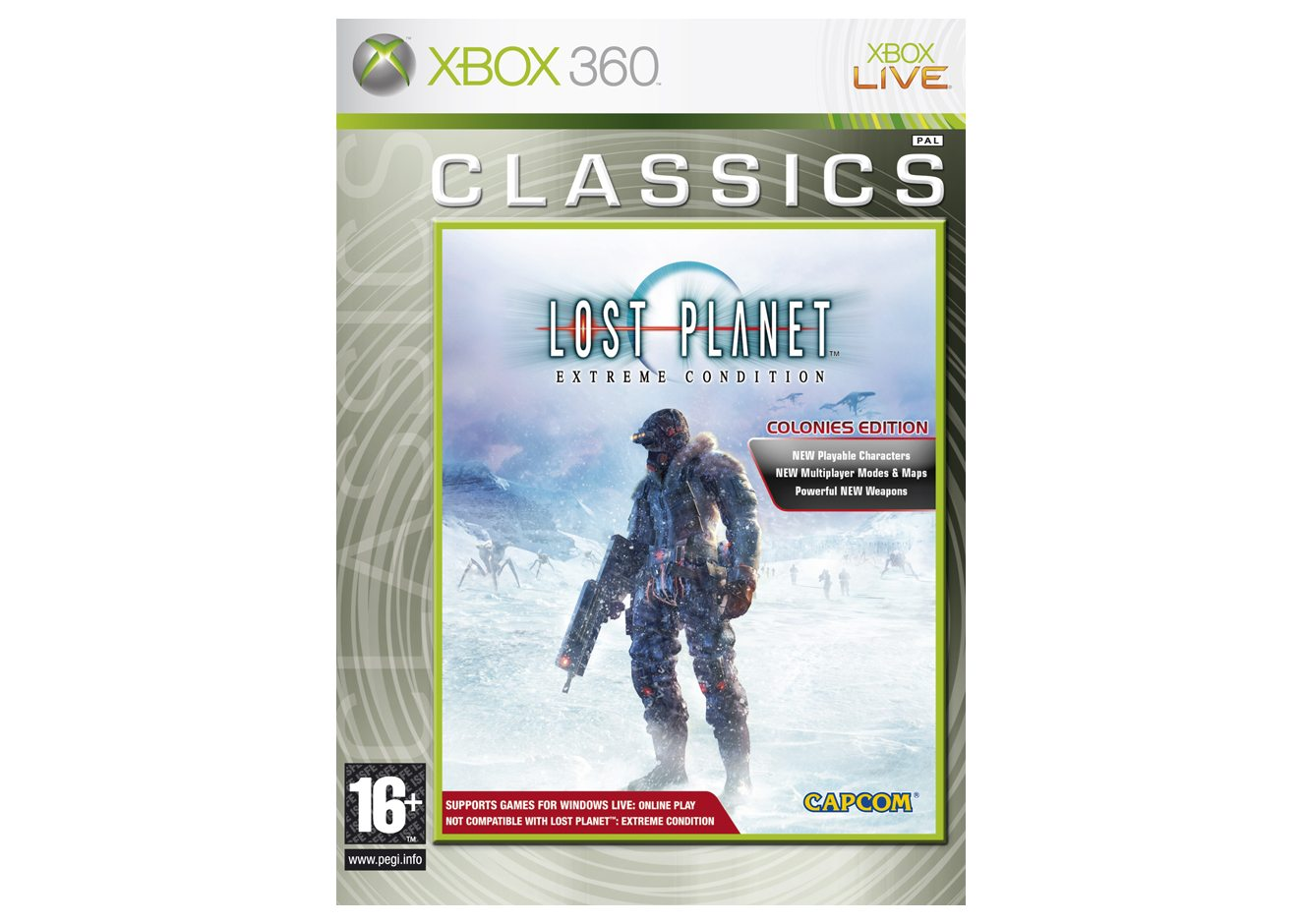 Xbox 360 Lost Planet Extreme Condition - Colonies Edition (Classics) Xbox 360