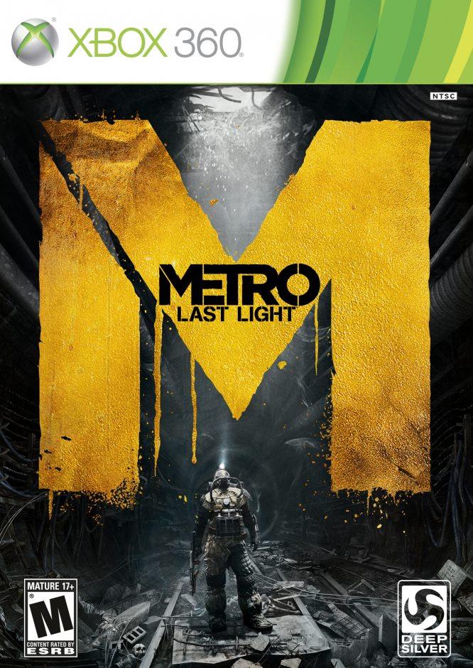Xbox 360 Metro: Last Light (Метро: Луч надежды) Xbox 360